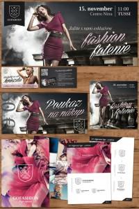Letáky pre obchod s dámskym talianskym oblečením Go Fashion