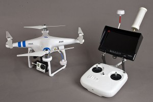 dji phantom 2 s videoprenosom